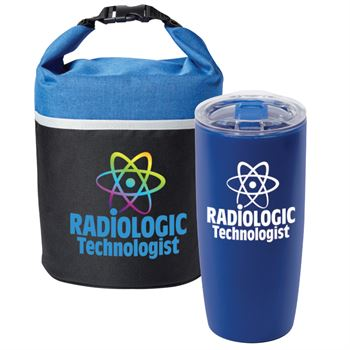 Radiologic Technologist Lunch/Cooler Bag & Acrylic Tumbler Gift Set