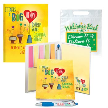 Planner, Stationery Folio & Stylus Pen With Welcome Back Goody Bag