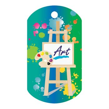 Art Laminated Award Tag With 24