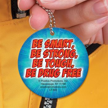 I Have The Power To Be Drug Free Laminated Tag With 4