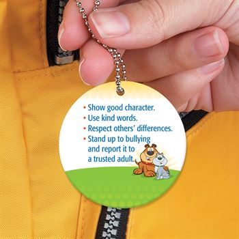 Be A Buddy Not A Bully Laminated Tag With 4