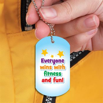 Make Every Day Field Day: Get Out And Play! Award Tag With 24