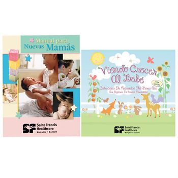 Spanish The New Mom's Handbook, Keepsake Calendar & FREE Goody Bag Combo Gift Set - Personalization Available