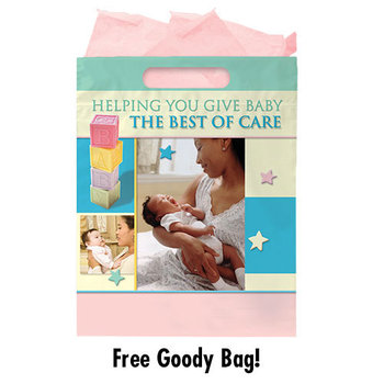 Spanish New Mom & Baby Care Handbook, Calendar & FREE Goody Bag - Personalization Available