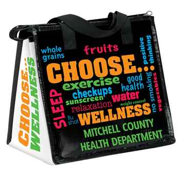 Choose Wellness Lunch Bag & 100 Smart Wellness Strategies Handbook Combo