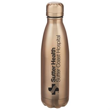 Double Wall Stainless Steel Vacuum Bottle 17-Oz. - Personalization Available