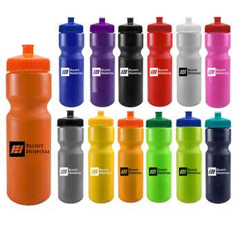Sports Squeeze Water Bottle - 28-Oz. - Personalization Available