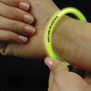 Safety Glow Bracelet - Personalization Available