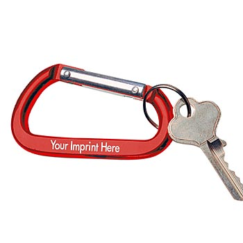 Carabiner Key Holder - Personalization Available