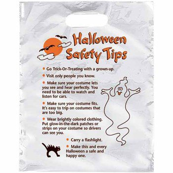 Happy Halloween Reflective Trick-Or-Treat Bag - Personalization Available