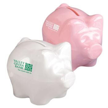 Mini Piggy Bank - Personalization Available