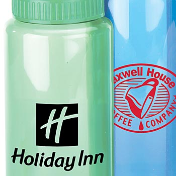 Translucent Wide Mouth Water Bottle- 32 oz - Personalization Available