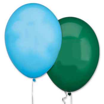 "11"" Biodegradable Latex Festive Balloons - Personalization Available"