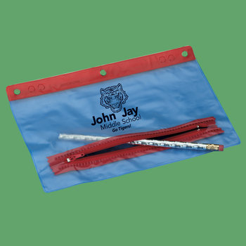 "9 1/4"" X 6"" Pencil Pouch - Personalization Available"