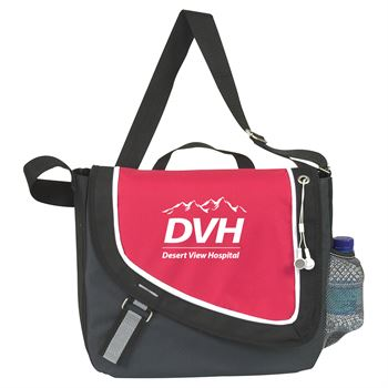 A Step Ahead Messenger Bag - Personalization Available