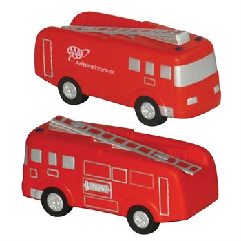 Fire Truck Polyfoam Stress Reliever - Personalization Available