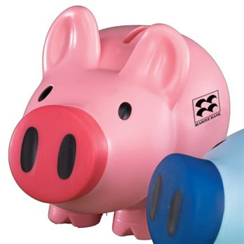 Piggy Bank With Screw-Off Nose - Personalization Available