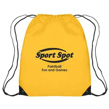 Large Sports Drawstring Backpack - Personalization Available