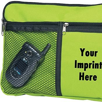 Multi Purpose Carrying Case With Zippered Compartments & Carrying Strap - Personalization Available