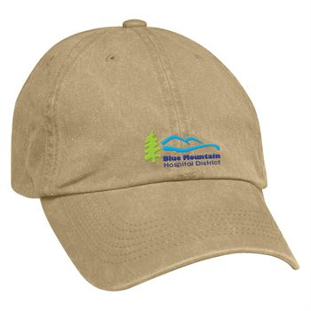 Embroidered Washed Cotton Twill Cap - Personalization Available