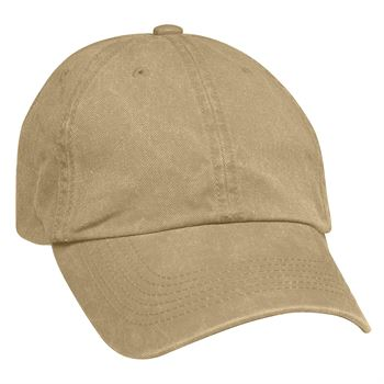 Embroidered Washed Cap