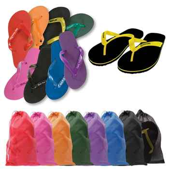 Adult Flip Flops - Personalization Available