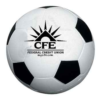 Soccer Ball Stress Reliever - Personalization Available