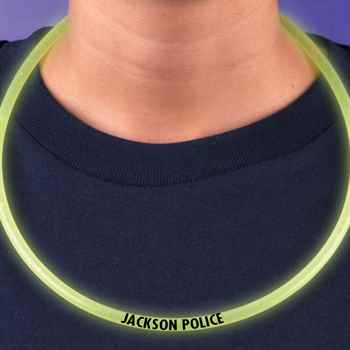 Safety Glow Necklace - Personalization Available