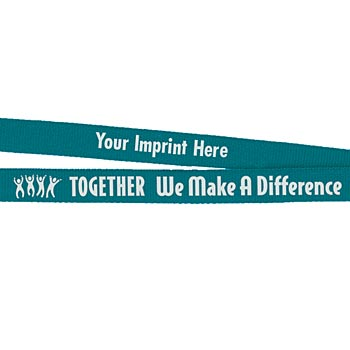 Together We Make A Difference Breakaway Lanyard - Personalization Available