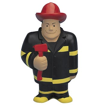 Fireman Stress Reliever - Personalization Available