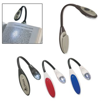 Bendable Book Light - Personalization Available