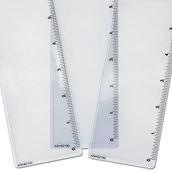 "Bookmark Magnifer With 6"" Ruler On Side - Personalization Available"