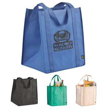 Eco-Friendly Poly Pro Big Grocery Tote - Personalization Available