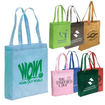 Non-Woven Go Tote - Multi-Color Imprint Personalization Available