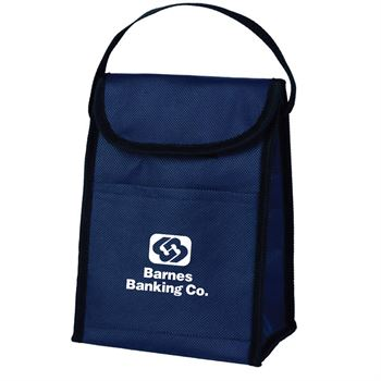 Non-Woven Budget Lunch Bag - Personalization Available