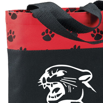 PAW Large Tote Bag - Personalization Available