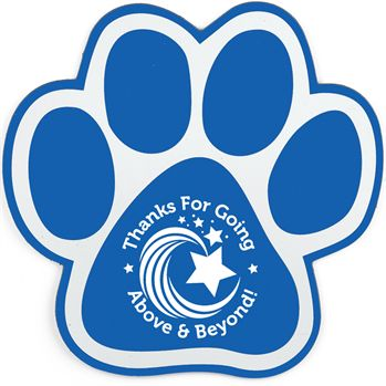 Paw Auto Magnet - Personalization Available