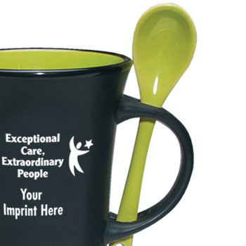 Exceptional Care Extraordinary People Aztec Ceramic Mug - Personalization Available