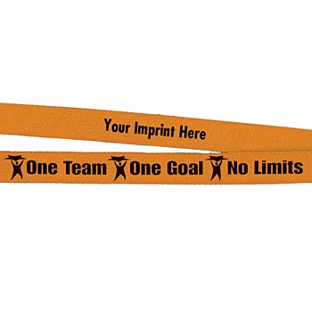 One Team, One Goal, No Limits Lanyard - Personalization Available