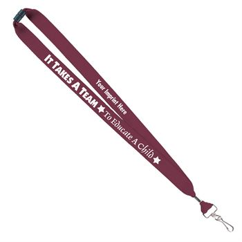 It Takes A Team To Educate A Child Message Lanyard - Personalization Available
