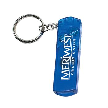 Whistle Light And Compass Key Chain - Personalization Available
