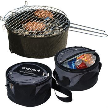 Weekend Explorer Grill & Cooler Set - Personalization Available