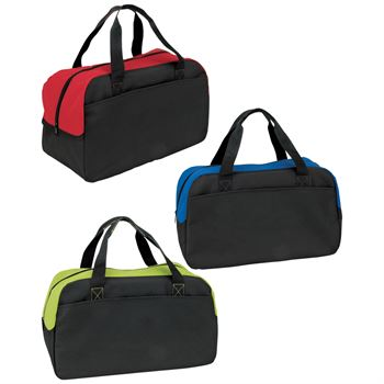 Budget Duffel Bag With Roomy Zippered Main Compartment - Personalization Available