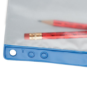 Zipper Closure Clear Pencil Pouch - Personalization Available