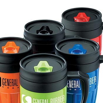 14 Oz. Lightweight Travel Mug With Lid - Personalization Available