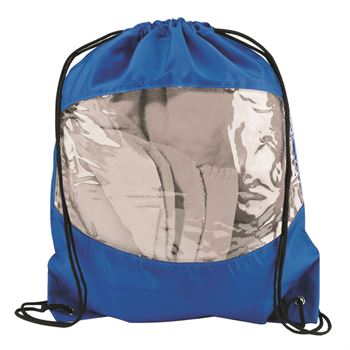 Clear View Drawstring Backpack