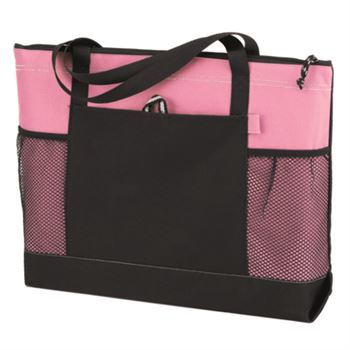 Mardi Gras Pocket Tote - Personalization Available