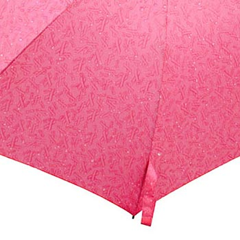 "43"" Open Automatic Umbrella With Pink Ribbon Patterns - Personalization Available"
