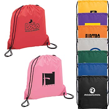 The Oriole Drawstring Backpack - Personalization Available
