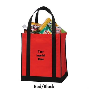 Reusable Non-Woven Apollo Grocery Tote - Personalization Available